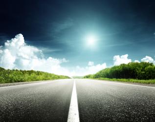 road_sky